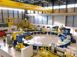 The ITER Poloidal Field coils facility is getting ready!